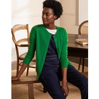 Cashmere Cardigan Emerald Green Women Boden, Emerald Green