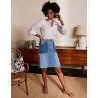 Cavendish Skirt Light Vintage Contrast Boden, Light Vintage Contrast