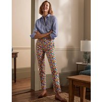 Richmond 7/8 Trousers Cherry Red, Paintbox Ditsy Women Boden, Cherry Red, Paintbox Ditsy