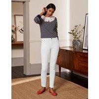Skinny Jeans White Boden, White.