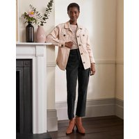 Relaxed Straight Jeans Washed Black Women Boden, Washed Black