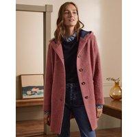 Cambridge Textured Coat Dusty Rose Women Boden, Dusty Rose