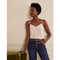 Silk Cami Chalky Rose Women Boden, Chalky Rose
