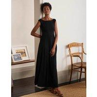 Dolly Jersey Maxi Dress Black Women Boden, Black