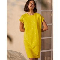 Faye Jersey T-shirt Dress Daffodil, Rainforest Stamp Women Boden, Daffodil, Rainforest Stamp