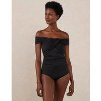 Sicily Bardot Swimsuit Black Women Boden, Black