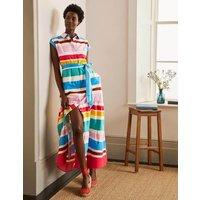 Betty Maxi Shirt Dress Summer Multistripe Boden, Summer Multistripe