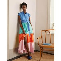 Betty Maxi Shirt Dress Marina Women Boden, Marina