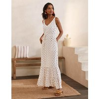 Alicia Maxi Dress Ivory, Paisley Stamp Women Boden, Ivory, Paisley Stamp