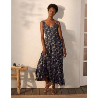 Alicia Maxi Dress French Navy, Rainforest Women Boden, French Navy, Rainforest