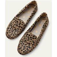 Melanie Moccasins Natural Cheetah Women Boden, Natural Cheetah