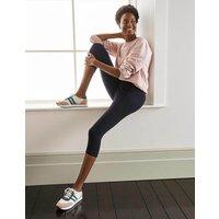 Favourite Cropped Leggings Navy Women Boden, Navy