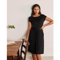 Amelie Jersey Dress Black Boden, Black