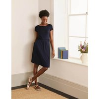 Amelie Jersey Dress Navy Women Boden, Navy