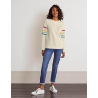 Boden The Sweatshirt Multi Women Boden, Ivory