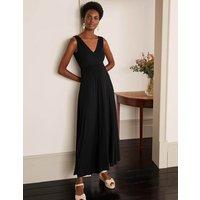 Sienna Jersey Maxi Dress Black Women Boden, Black