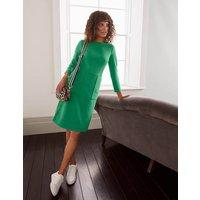 Auria Ottoman Dress Green Boden, Green