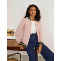 Studley Jersey Jacket Pink Women Boden, Pink