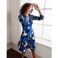 Edie Jersey Wrap Dress Summit, Floral Press Women Boden, Summit, Floral Press