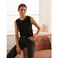 Favourite Knitted Tank Black Women Boden, Black