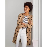 Berkshire Coatigan Brown Women Boden, Camel