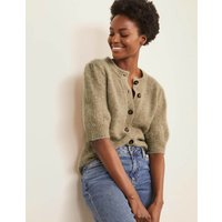 Blakeney Fluffy Cardigan Natural Women Boden, Natural