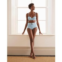 Kythira Cup-size Bikini Top Hazy Blue, Stripe Boden, Hazy Blue, Stripe