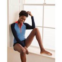 Zip Up Rash Vest Horizon colourblock Women Boden, Horizon colourblock