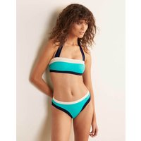 Santorini Bikini Bottoms Turquoise Colourblock Women Boden, Turquoise Colourblock