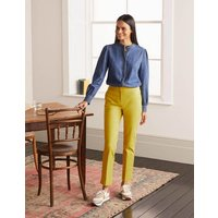 Richmond 7/8 Trousers Chartreuse Women Boden, Chartreuse