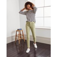 Slim Straight Ankle Skimmers Soft Mint Boden, Soft Mint