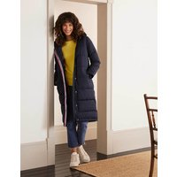 Thompson Puffer Coat Navy Women Boden, Navy