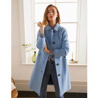 Hatfield Coat Blue Women Boden, Blue