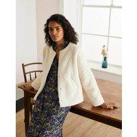 Blickling Jacket Ivory Women Boden, Beige