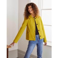 Hatfield Seam Jacket Yellow Women Boden, Yellow