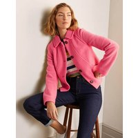 Hatfield Seam Jacket Pink Women Boden, Pink