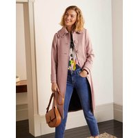 Ruffle Collar Coat Pink Women Boden, Pink