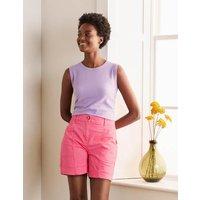 Abingdon Shorts Pink Sunset Women Boden, Pink Sunset