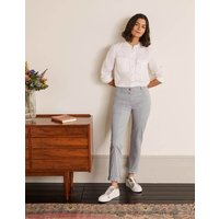 Abingdon Chino Trousers Grey Women Boden, Grey