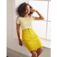 Abingdon Mini Skirt Chartreuse Women Boden, Chartreuse