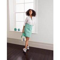 Abingdon Mini Skirt Apple Mint Women Boden, Apple Mint