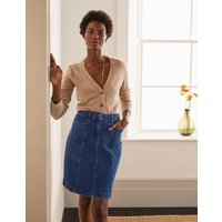 Abingdon Mini Skirt Denim Women Boden, Denim