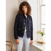 Holkham Jacket Navy Women Boden, Navy