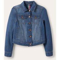 Authentic Denim Jacket Mid Vintage Authentic Wash Women Boden, Mid Vintage Authentic Wash