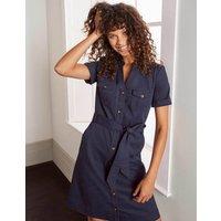 Cecily Shirt Dress Navy Boden, Navy