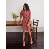 Cecily Shirt Dress Pink Women Boden, Pink