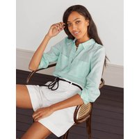 Linen Shirt Spearmint Women Boden, Spearmint