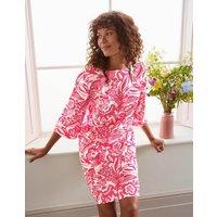 Laurie Linen Dress Lollipop, Exotic Escape Women Boden, Lollipop, Exotic Escape