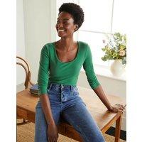 Double Layer Front Top Green Women Boden, Green