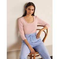 Double Layer Front Top Pink Women Boden, Pink